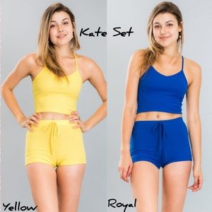 Other - Kate Set in Yellow & Royal